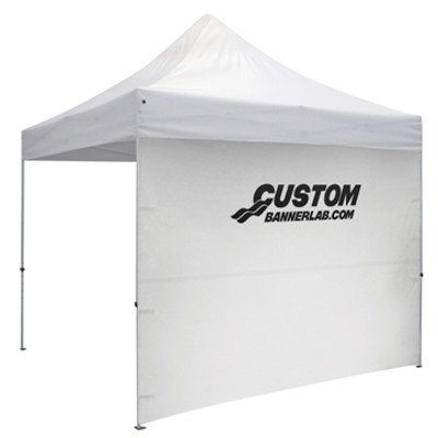 Custom Printed Full Tent Side Wall with Logo