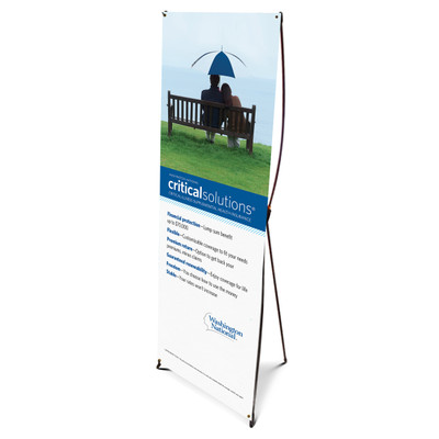 Critical Solutions Bannerstand