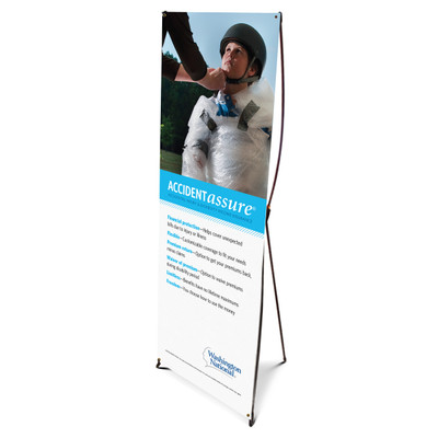 Accident Assure Bannerstand