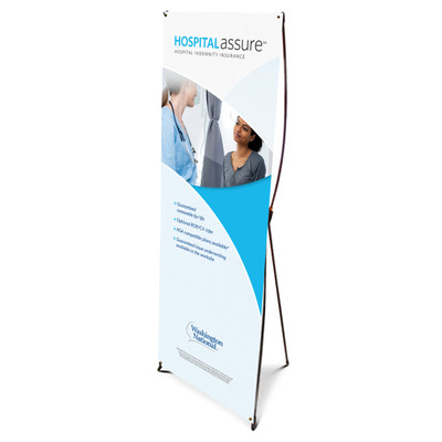 Hospital Assure Bannerstand