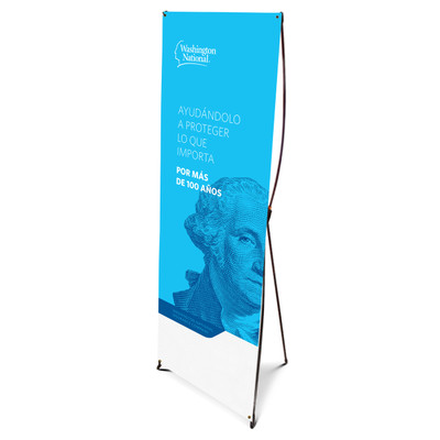 WN Brand Spanish Bannerstand