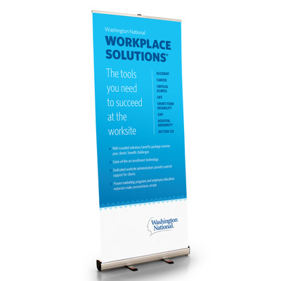 Workplace Solutions Retractable Bannerstand