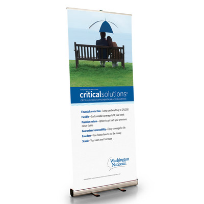 Critical Solutions Retractable Bannerstand