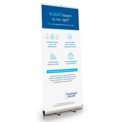 Need for Supplemental Insurance Retractable Bannerstand