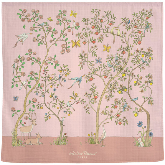 Swaddle/Box - In Bloom Pink