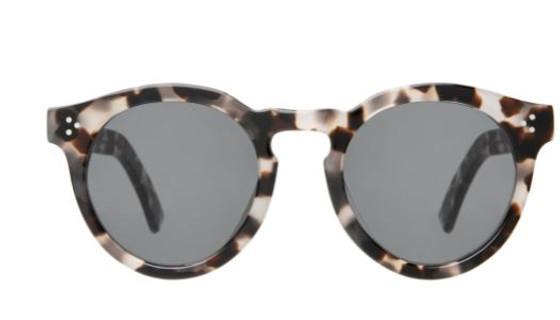 Leonard II E Sunglasses- White Tortoise