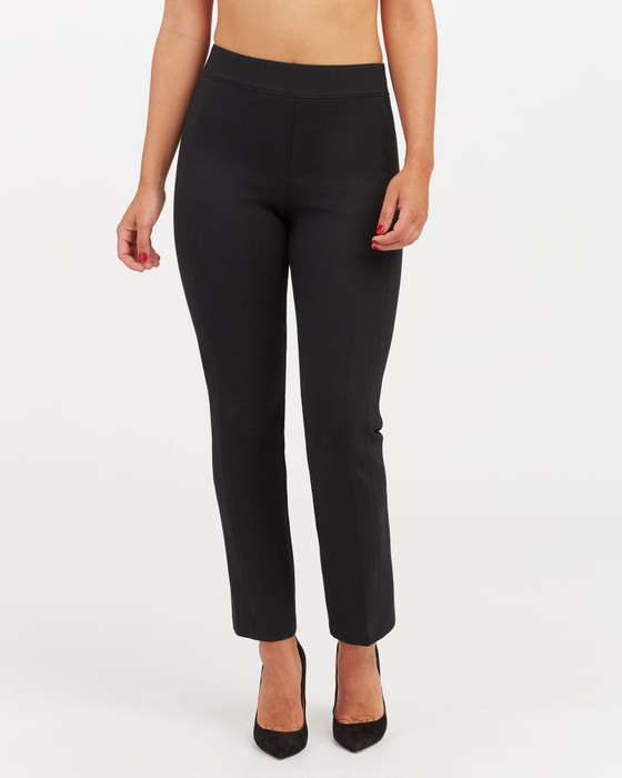 Perfect Black Pant Slim Straight- Black