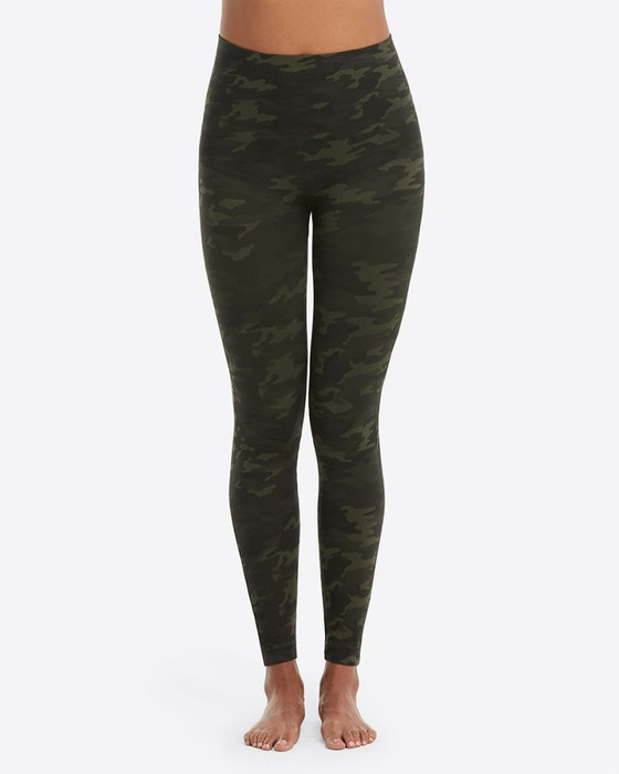 Look At Me Now Seamless Leggings- Green Camo