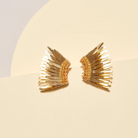 Mini Madeline Earring - Gold