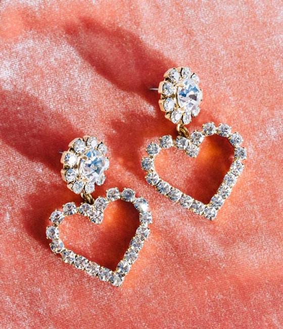 Cupid Heart Earrings