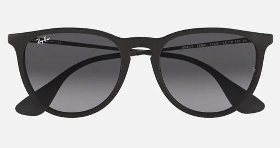 Erika Rubber - Black w/ Grey Gradient Lenses