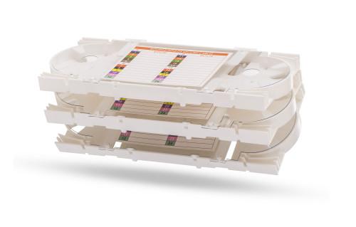 Signamax 24-Fiber Aluminum Splice Tray for UFE Enclosures