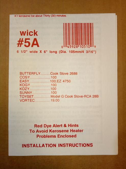 Wick #5A