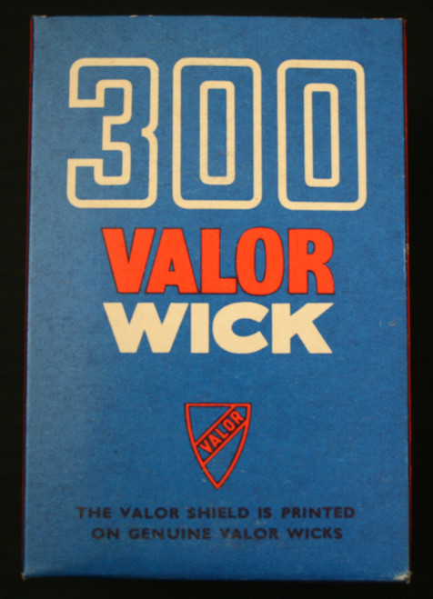 #199119; 65, 65S Cooking Stove; #300F wick Genuine Valor wick with wick sleeve