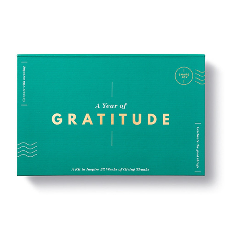 A year of gratitude - notecard kit