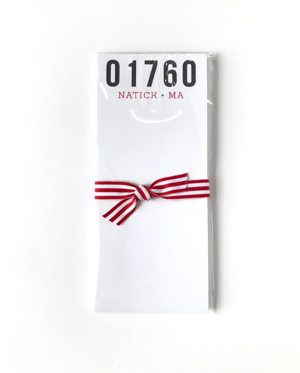 Narrow 01760 notepad