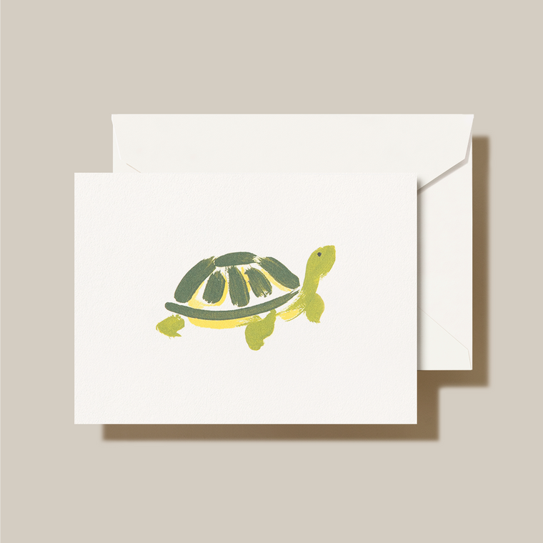 Pearl White Finish Fold Over Note Card 10 Notes 10 Envelopes 100% Cotton Paper 3 15/16 x 5 9/16