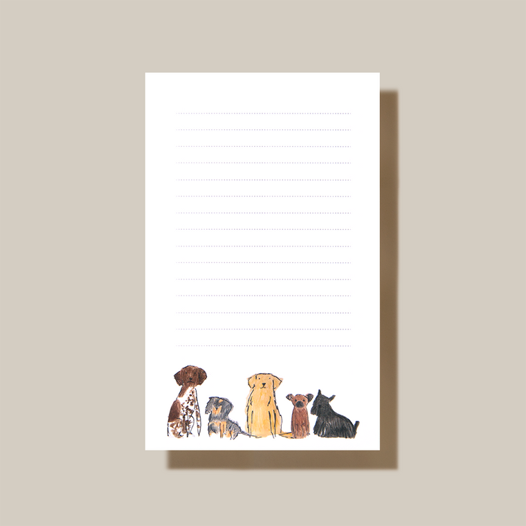 """48 Pages Narrow Ruled 3.87 x 6.25"""" 100% Cotton Paper"""
