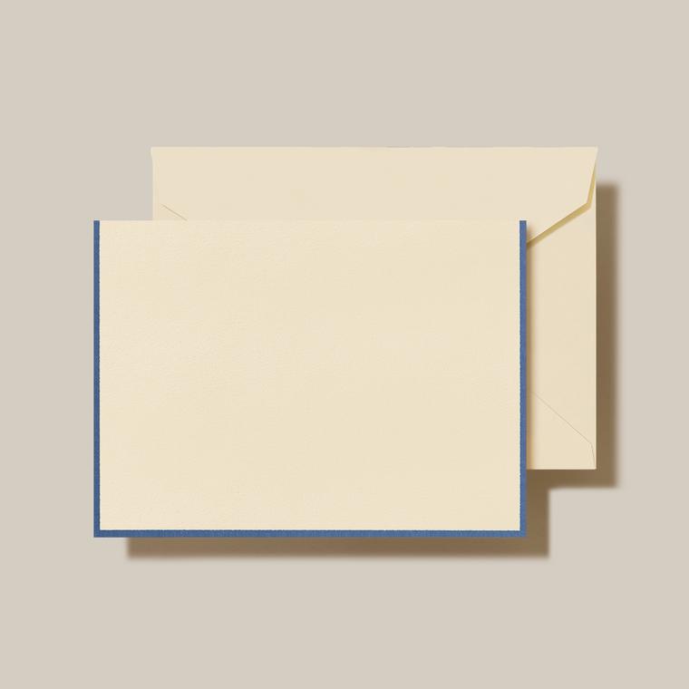Ecru Finish Fold Over Notes 10 Notes 10 Envelopes 100% Cotton 3 15/16 x 5 9/16