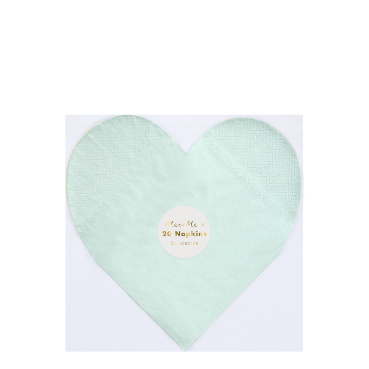 Get the color of the rainbow at your table with these gorgeous bright and beautiful large heart napkins. Perfect for Valentine's Day or any romantic celebration.