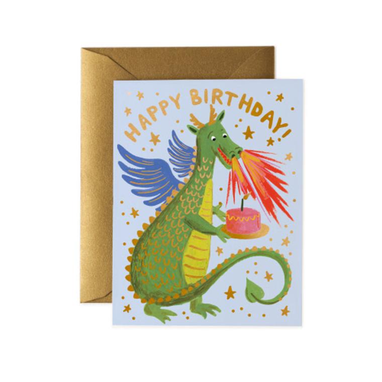 Birthday Dragon Card