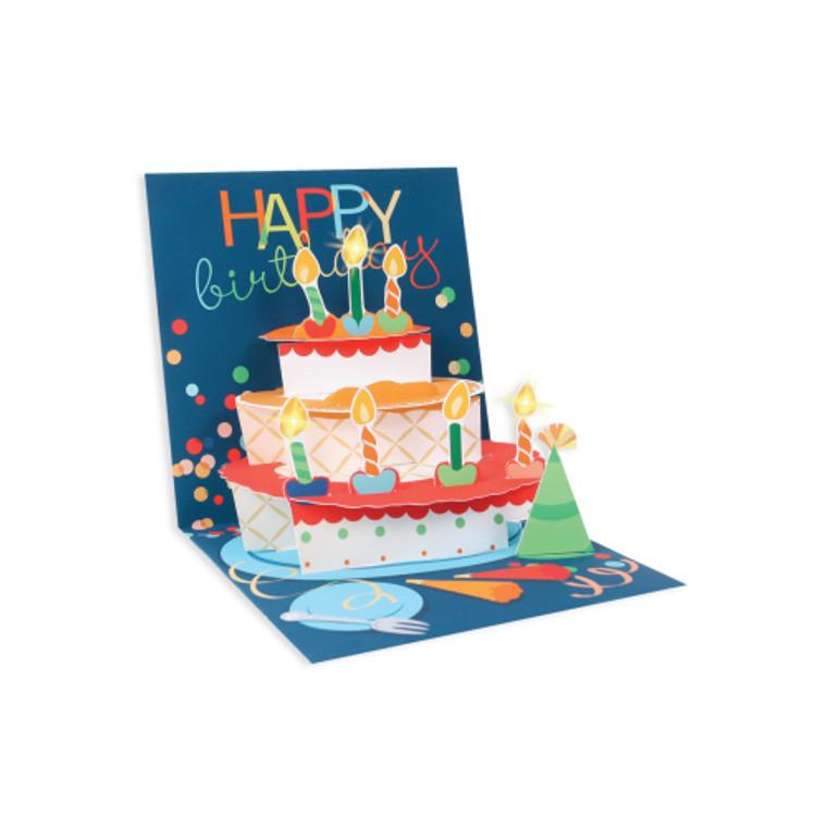 Birthday Cake Pop-up Greeting Card