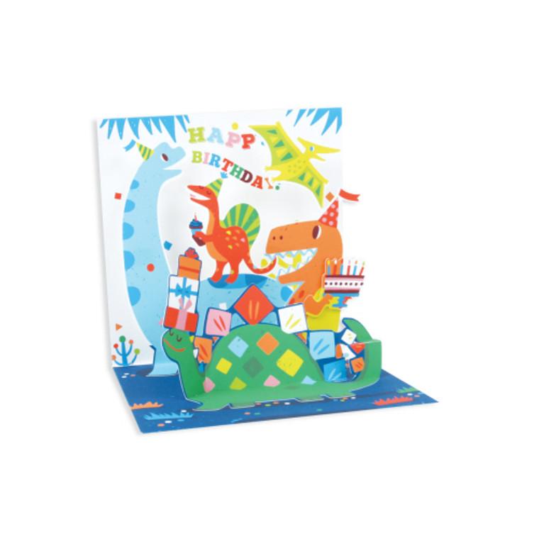 Dinosaur Pop-up Greeting Card