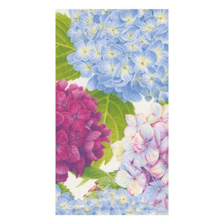 Hydrangea Garden Blue Guest Towel