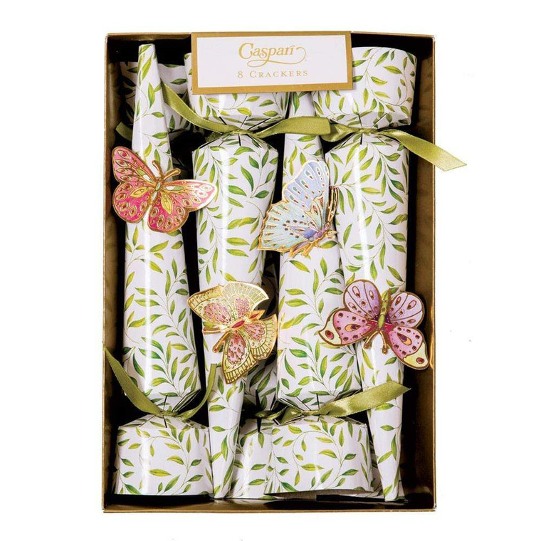 Jeweled Butterflies Cone Celebration Crackers