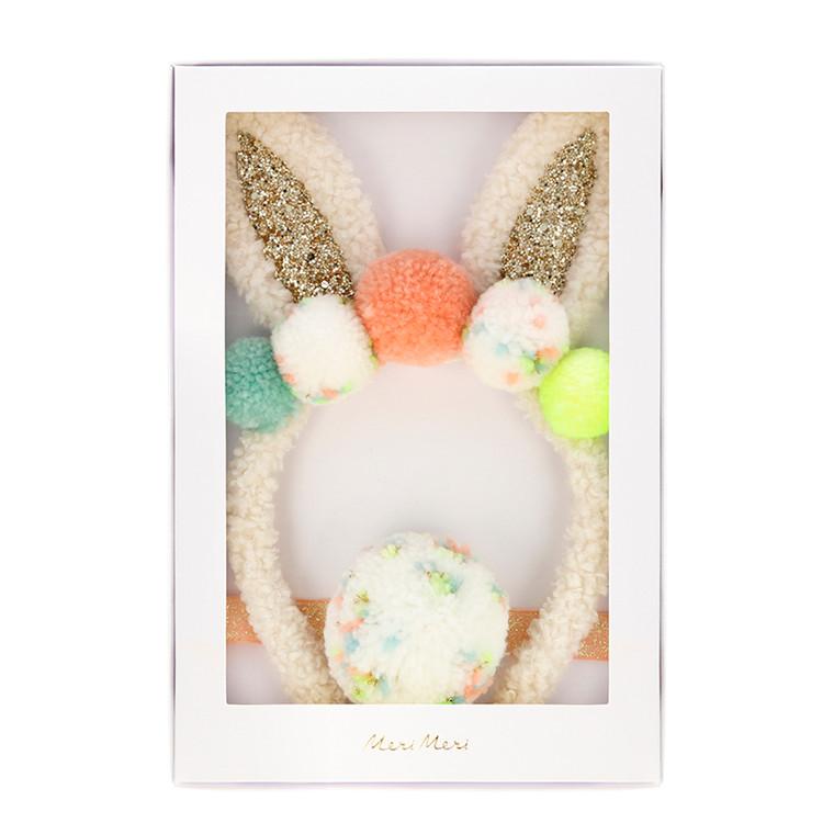 Pompom Bunny Costume