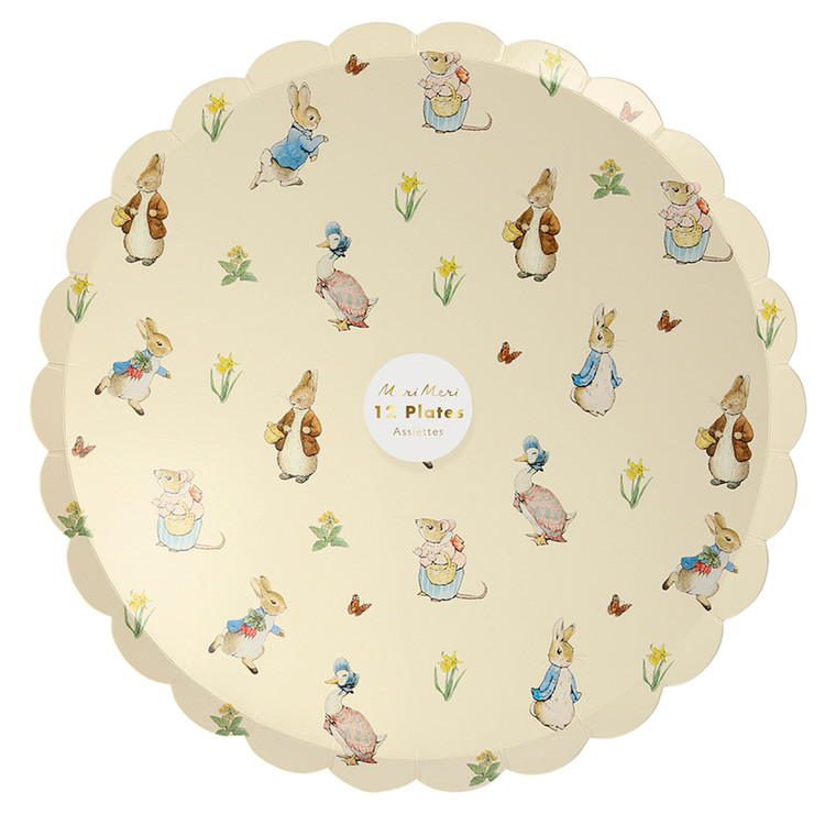 Peter Rabbit and Friends Dinner Plate