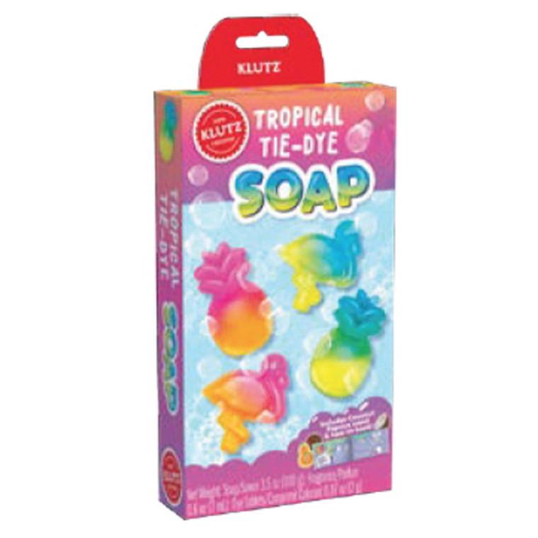 Tropical Tie-Dye Soap