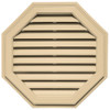 Octagon Vinyl Gable Vent
