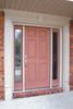 White Door Surround,  Flat Panel Door Surround with Keystone
