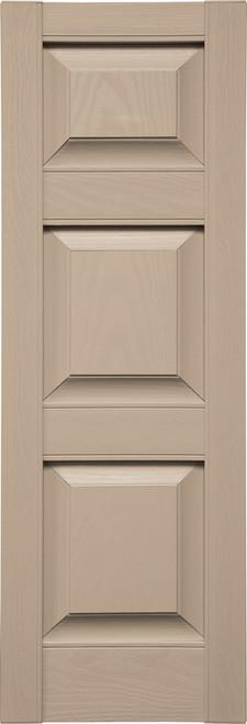 Custom Panel (P6) Three Panels, Small Top (023) Wicker