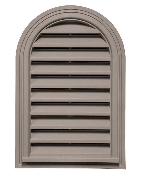 Round Top Vinyl Gable Vent