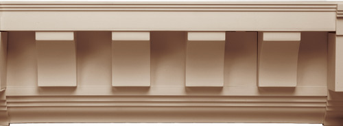 Scalloped Tooth Dentil Trim