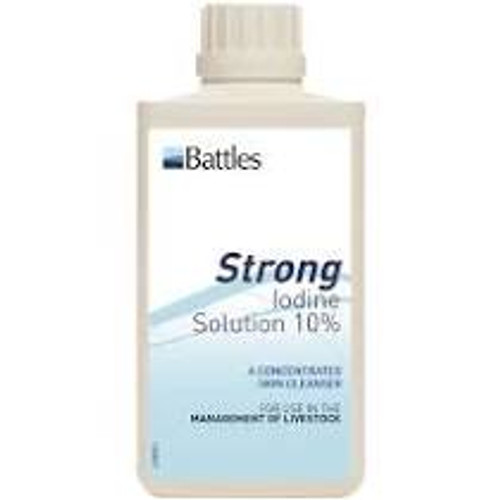 Strong Iodine Solution - 10%