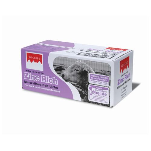 Rockies Zinc Mineralised Salt Lick 2 x 10kg