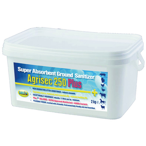 Biocare Agrisec 250 Plus - Disinfectant Powder
