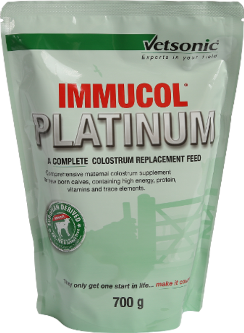 Immucol Platinum Calf Colostrum 700g