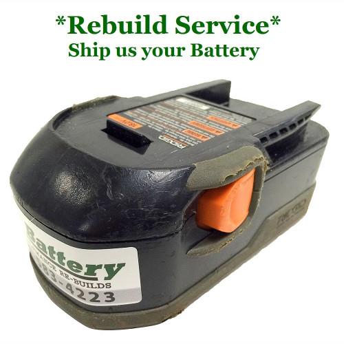 RIDGID REBUILD Service for 18V Compact Model 130252004