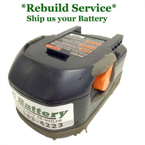 RIDGID REBUILD Service for 14.4V Compact Model 130252003