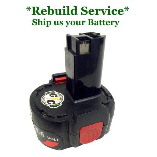 SKIL REBUILD Service For 9.6V Model 96BAT