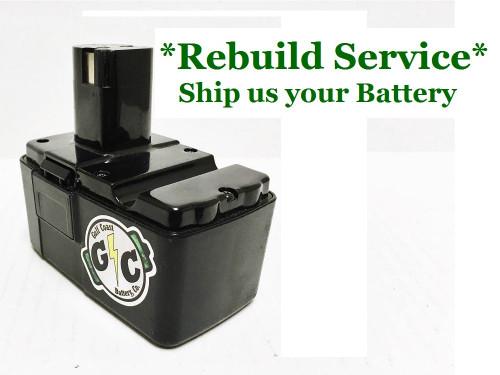 Craftsman REBUILD Service for 10.8V Model 981482-001