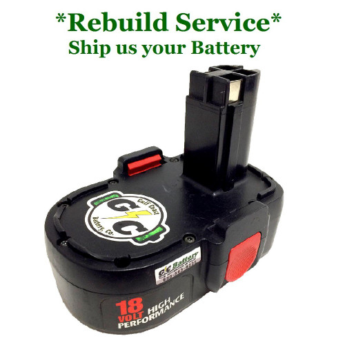 SKIL REBUILD Service for 18V Model 92995