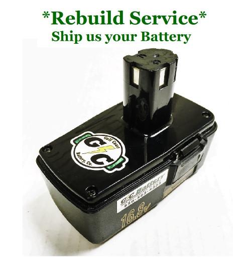 Craftsman REBUILD Service for 16.8V Model 981886-001