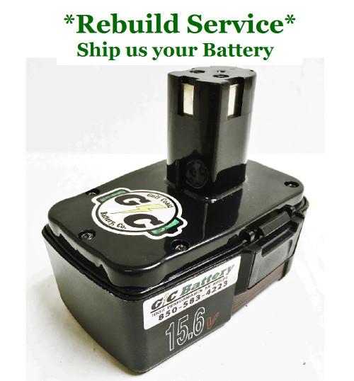 Craftsman REBUILD Service for 15.6V Model 982030-001
