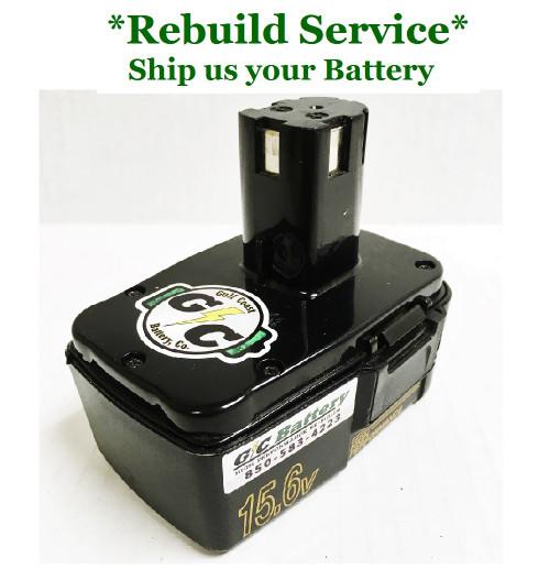 Craftsman REBUILD Service for 15.6V Model 975172-001