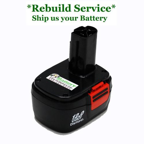 Craftsman REBUILD Service for 12V Model 130279001